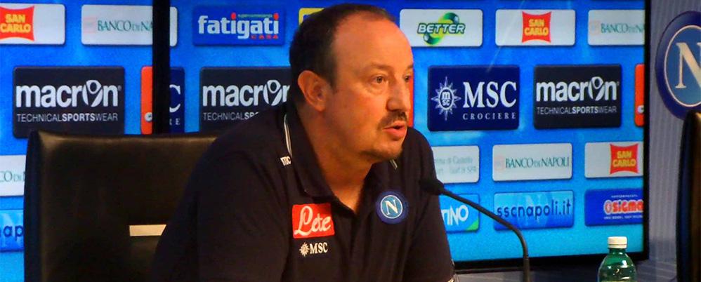 """Benitez: """"Maggio ok, su Albiol e Higuain decido domani. A sinistra ho anche Britos e Mesto"""""""