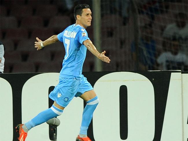 """Callejon: """"Totti mi ha impressionato, Roma e Juve forti, ma noi abbiamo fame"""""""